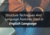 Structural Features English